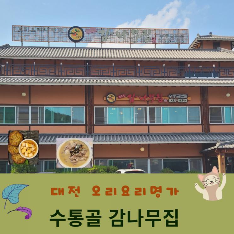 대전 맛있는 집 수통골 감나무집