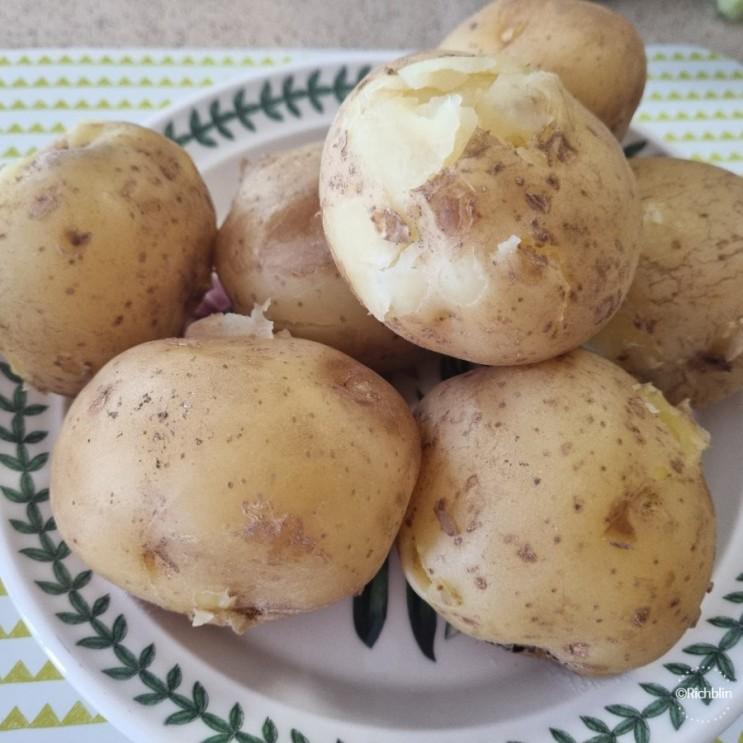 2021.6.21: 새로운 도전, 감자, 명상