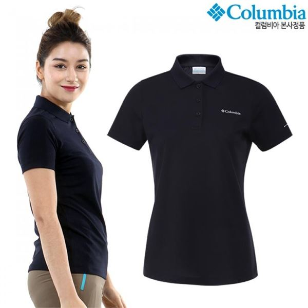 후기가 정말 좋은 컬럼비아여성 베이직 반팔 카라 티셔츠(CZ2-YLD903) 추천합니다