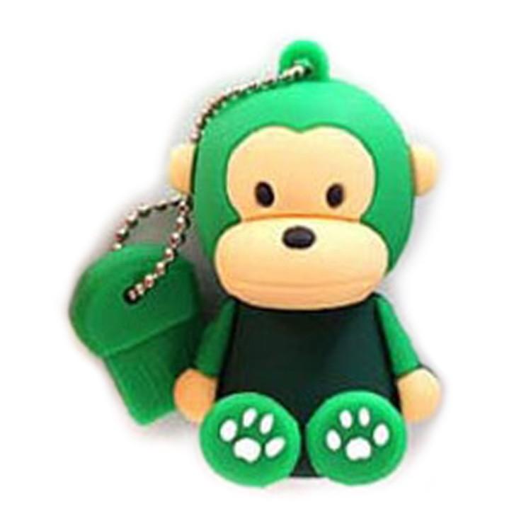 후기가 좋은 칼론 몽키몽키 캐릭터 USB메모리 8GB, 그린, 1개 추천해요