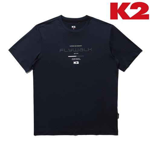 잘팔리는 K2 남성 스타터 반팔 라운드 티셔츠 KMM21220-N9 ···