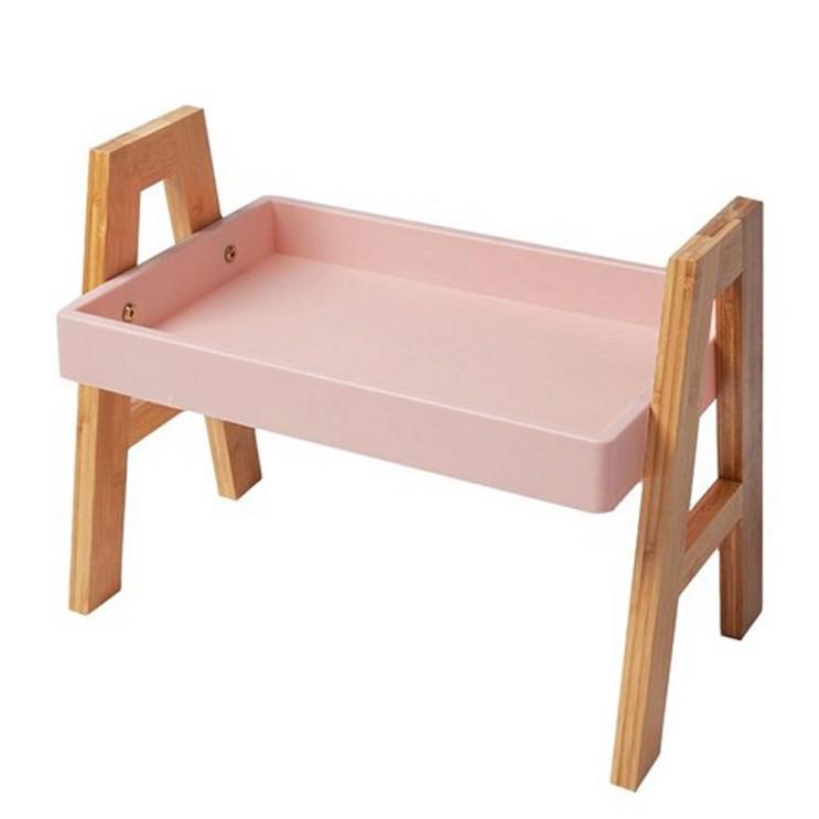 구매평 좋은 코시나 에이형 스탠다드 수납선반 스몰, 핑크 좋아요