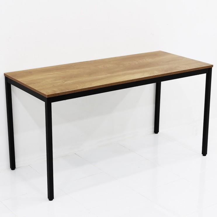 요즘 인기있는 THEJOA 모던테이블 카페 테이블 업소용 입식 식탁 카페/업소용/식탁/컴퓨터책상, 1400 우드슬랩 추천합니다