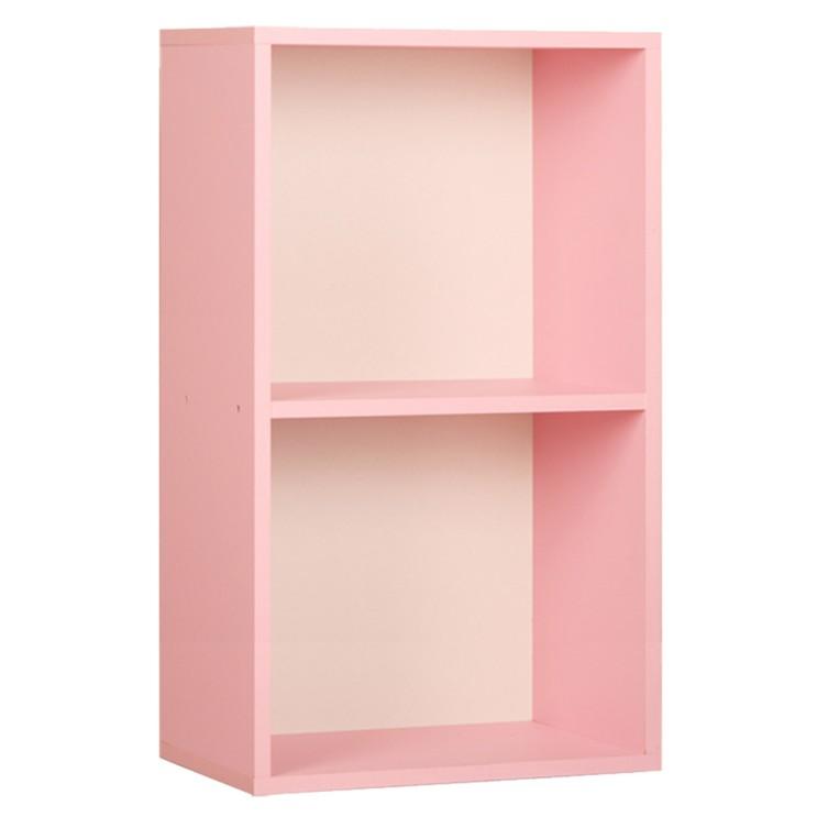 가성비갑 하우디가구 칸높은 2단 칼라 공간박스 DIY, 핑크 추천해요