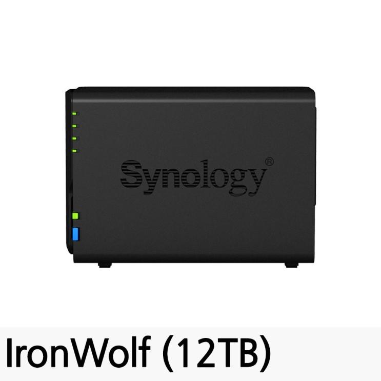 가성비 뛰어난 시놀로지 DiskStation NAS DS218, DS218 (12TB) 좋아요