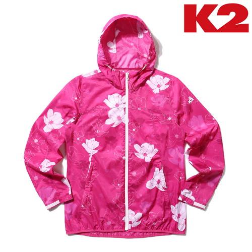 가성비갑 K2 여성 HIKE 플라워 방풍 자켓 KWM21144-M2 좋아요