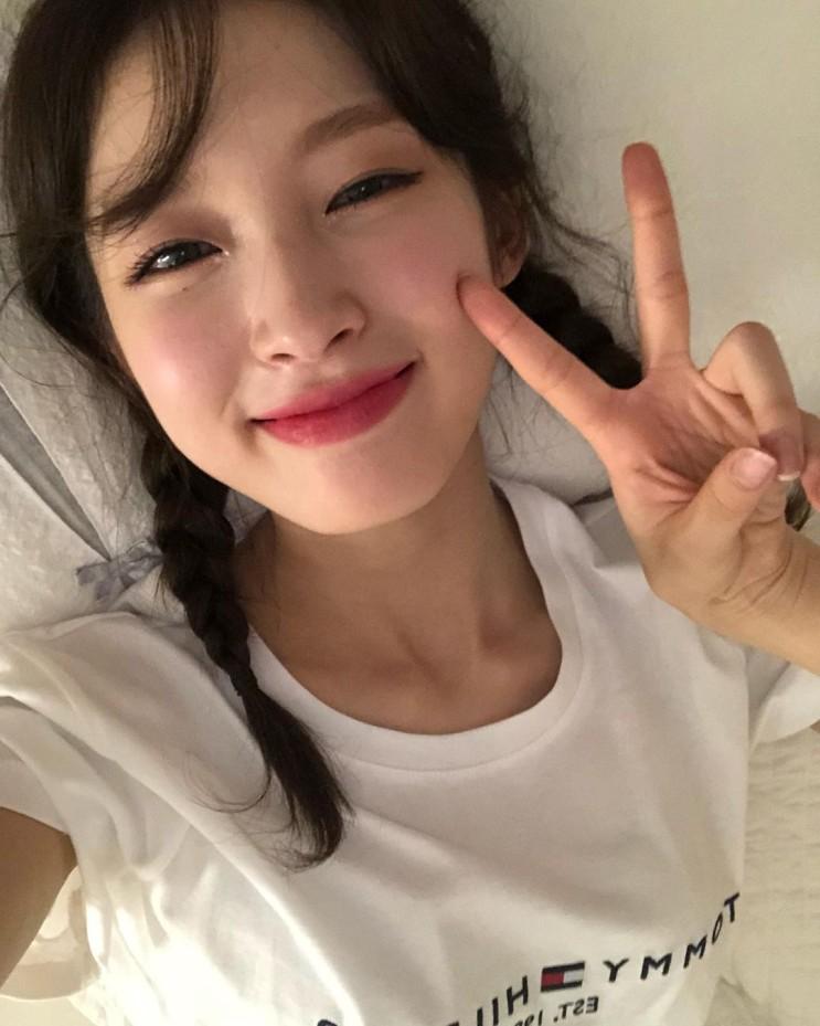 210627 오마이걸 아린 인스타그램