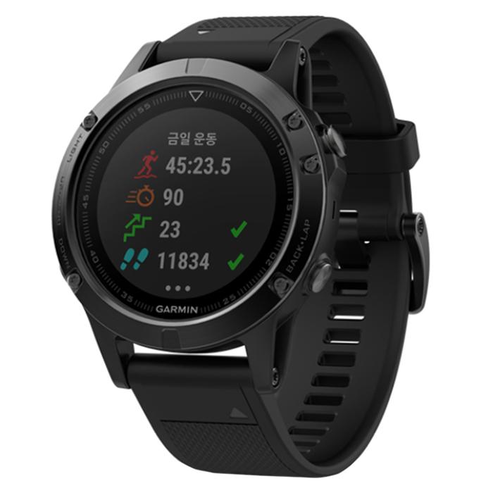 최근 인기있는 가민 피닉스 5X 멀티스포츠 GPS 스마트워치, A03095, 블랙 좋아요