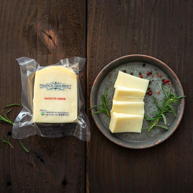 핵가성비 좋은 프랑스구르메 숲골 치즈빚는 마을 라클렛 치즈, 200g, 1개 ···