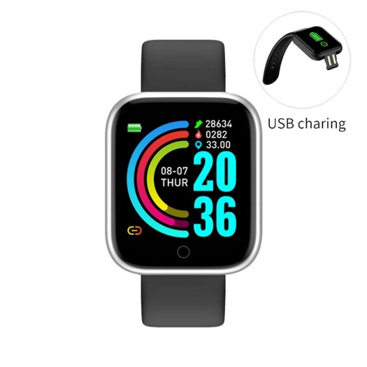 선택고민 해결 I5 스마트 시계 스포츠 보수계 심박수 혈압 모니터링 남성과 여성 스마트 워치 화웨이 폰 전화 PK D20 W4, Y68 실버 추천합니다