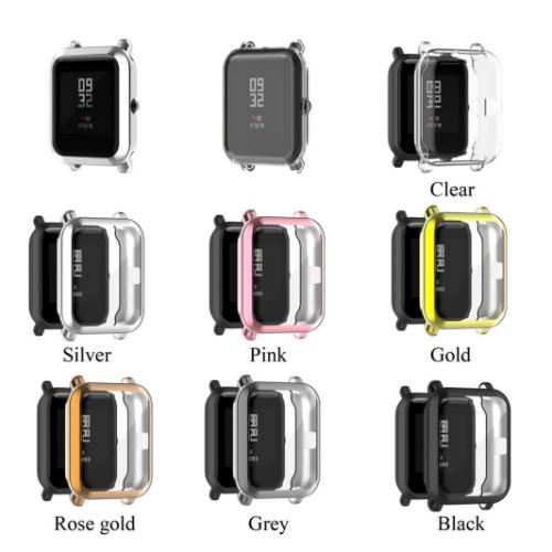 의외로 인기있는 샤오미 어메이즈핏 gts2 mini 보호케이스 필름 커버, 골드 추천합니다