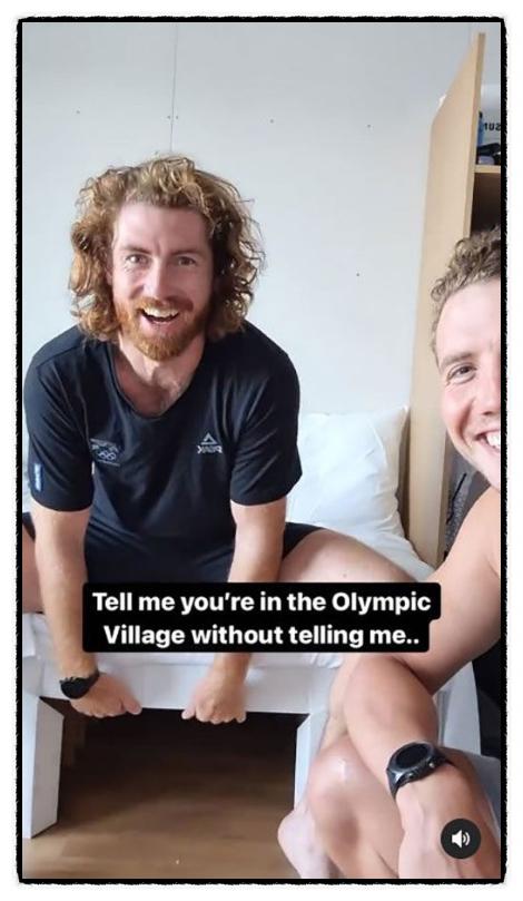 도쿄올림픽 골판지 침대 가격 선수촌 냉장고 상황 뉴질랜드 선수 트윗