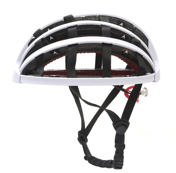 잘팔리는 전동 킥보드 안전모 방탄모 접는 접이식 휴대용 헬멧, 화이트_기본 추천해요