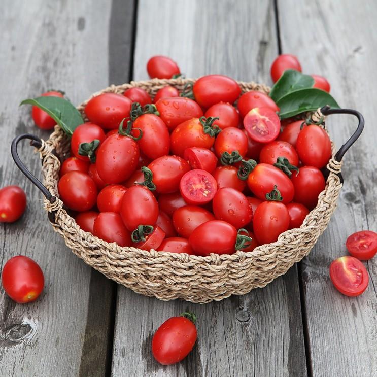 요즘 인기있는 장보남 대추방울토마토 2kg 실중량, 1박스, 대추방울토마토 2kg(소과) ···