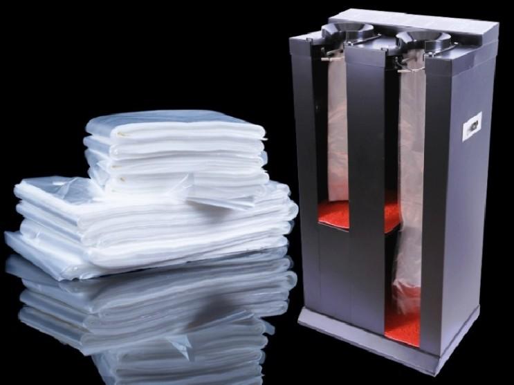 인기 급상승인 이퍼피 일회용 우산 포장 비닐 우산 포장 기계 전용 비닐, 두께0.02mm_72x14_500개, 투명 ···