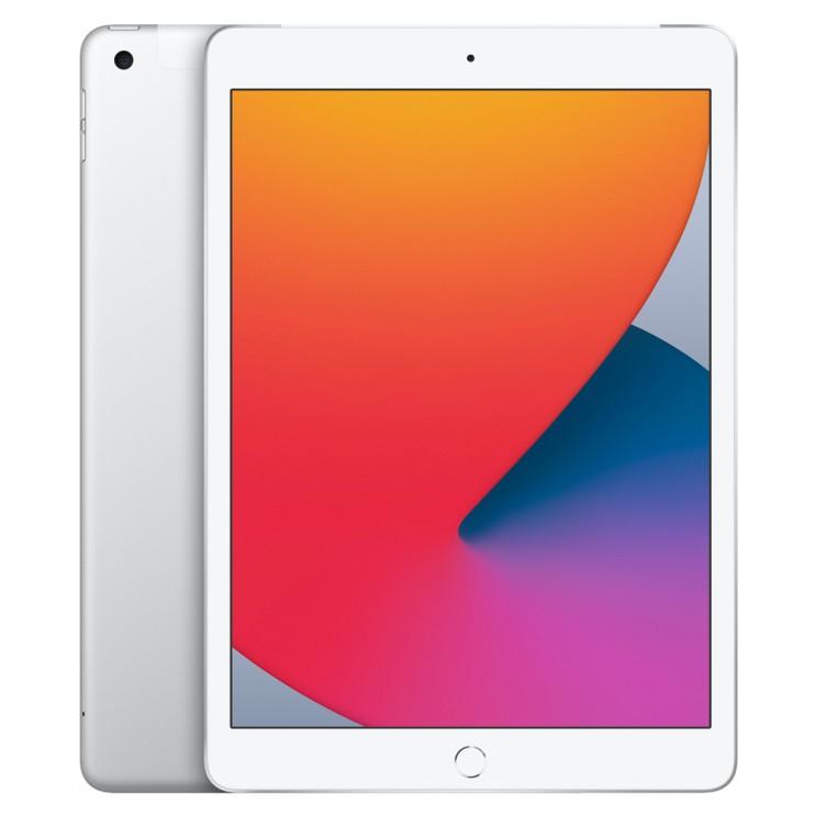 가성비 좋은 Apple iPad 8세대, Wi-Fi+Cellular, 128GB, 실버 ···