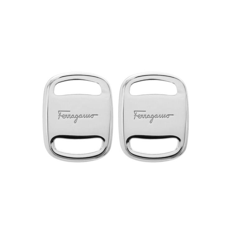 많이 팔린 [Salvatore Ferragamo]바라 플레이트 76 0220 002 0717128 공용 귀걸이 ···