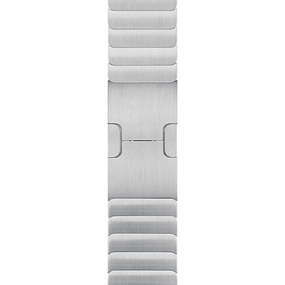 선호도 좋은 Apple 정품 애플워치 3/6/SE 링크 브레이슬릿, 실버, 1개, 38/40mm ···