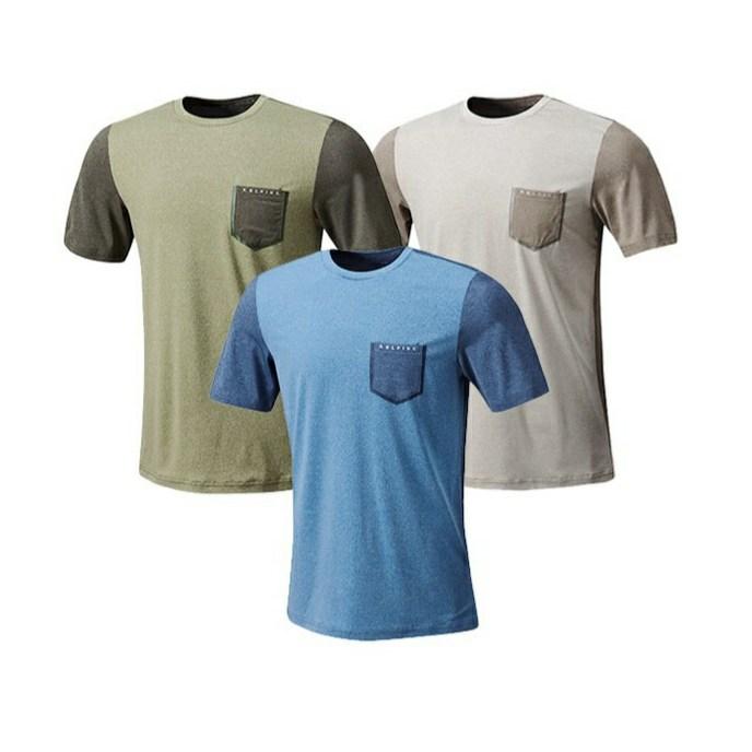 요즘 인기있는 콜핑 아울렛 이월상품 초특가세일! 땀배출 빠른 투톤 배색의 남성 라운드 기본 여름 반팔 티셔츠 등산 트레킹 캠핑 아웃도어 pt 좋아요