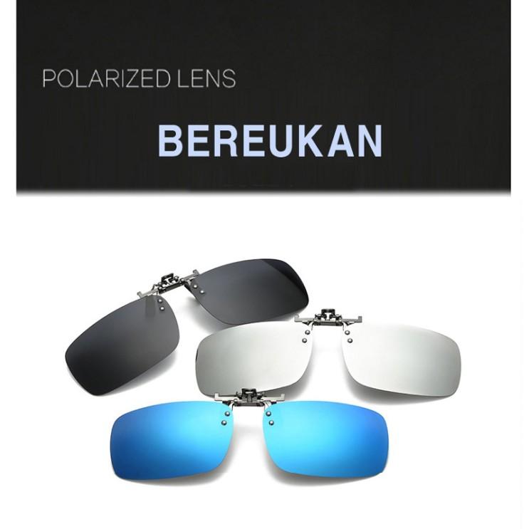 최근 인기있는 BEREUKAN 클립형 편광선글라스 안경착용자용 PCL-3 좋아요