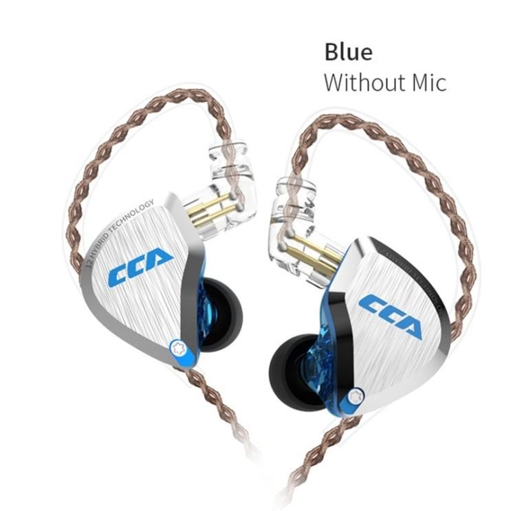 인지도 있는 블루투스 이어폰 가성비 CCA C12 5BA 1DD 하이브리드 인 이어 헤드셋 12 드라이버 유닛 HIFI DJ 모니터 이어 버드 헤드셋 소음 차단, CCA C12 B