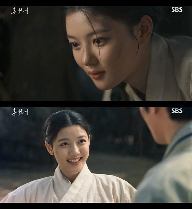'홍천기' 김유정, 설렘 가득한 눈빛+표정 '로맨스 예열'