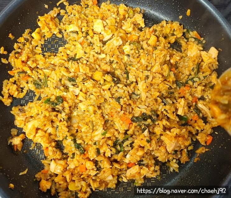 허닭 저염 닭가슴살로 관리 식단 쉽게 만들기(다신 현미 곤약 밥)