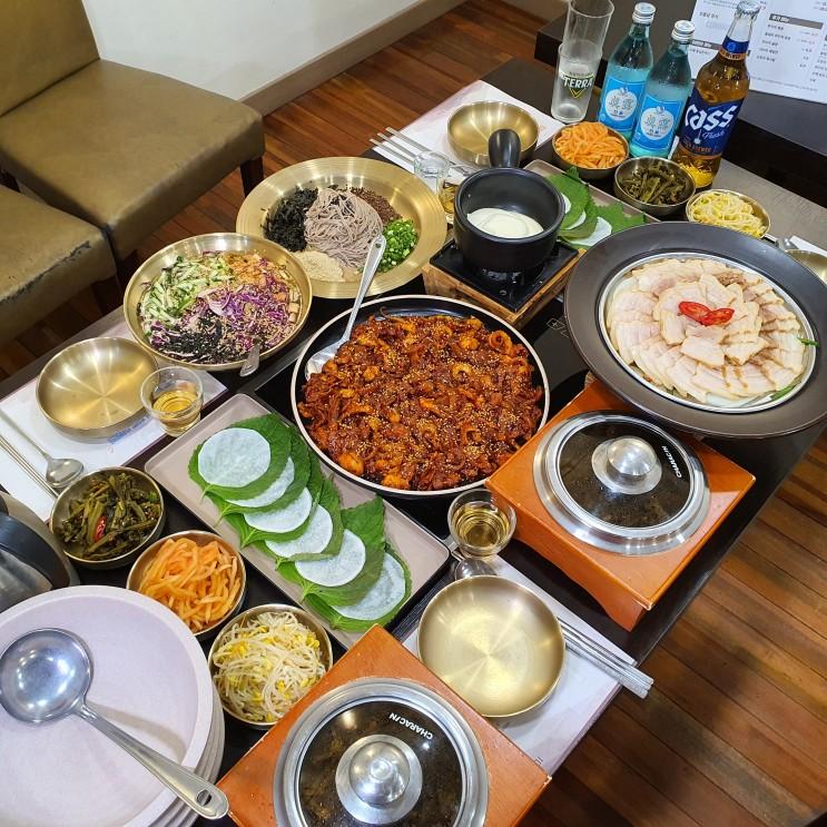 하남 미사 맛집 / 수육이랑 쭈꾸미 환상의 조합, 미사리 한식 밥집 추천