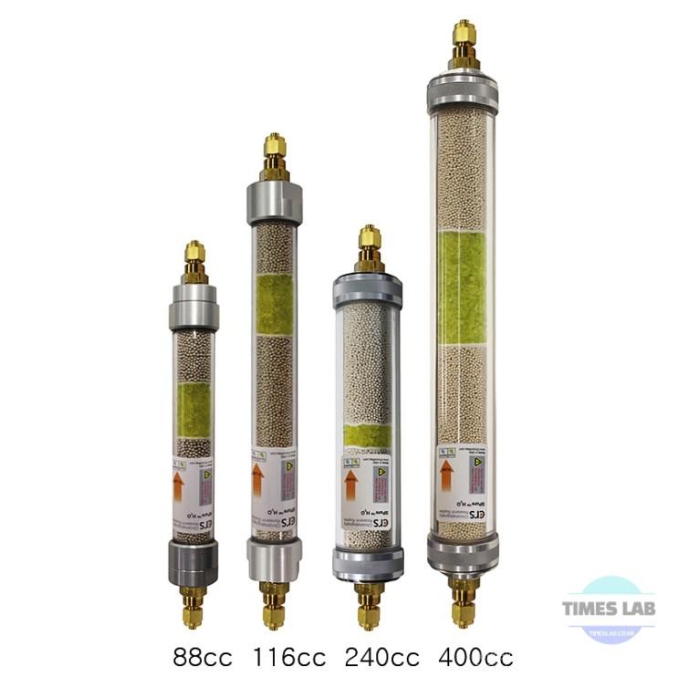 SPure Inline Gas Filter, Plastic Body / 플라스틱 케이스 가스 정제관