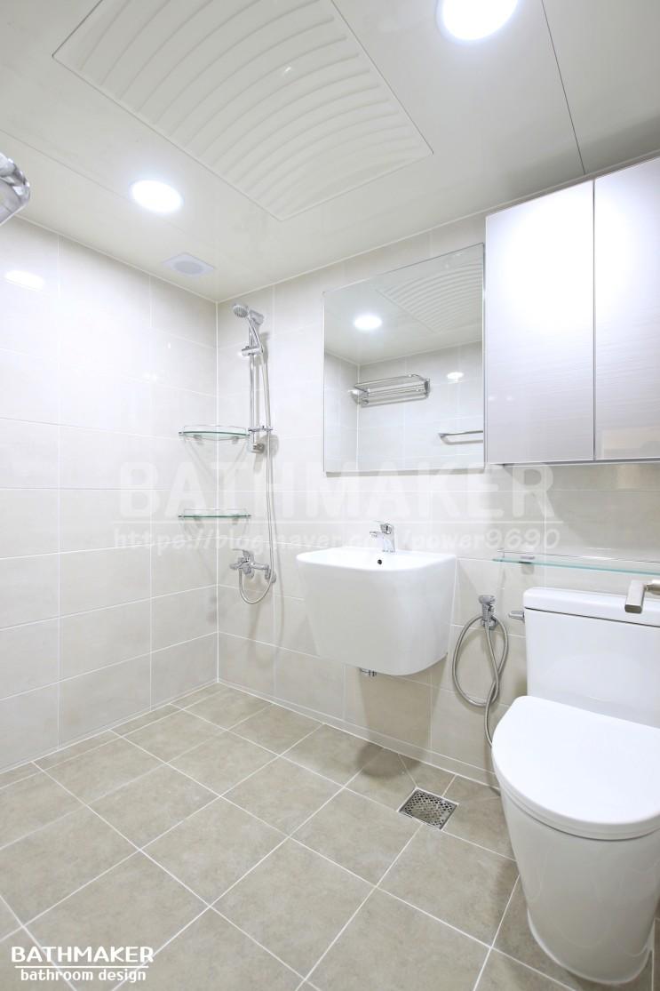 중랑구 아파트욕실 인테리어 - 새한아파트(거실)
