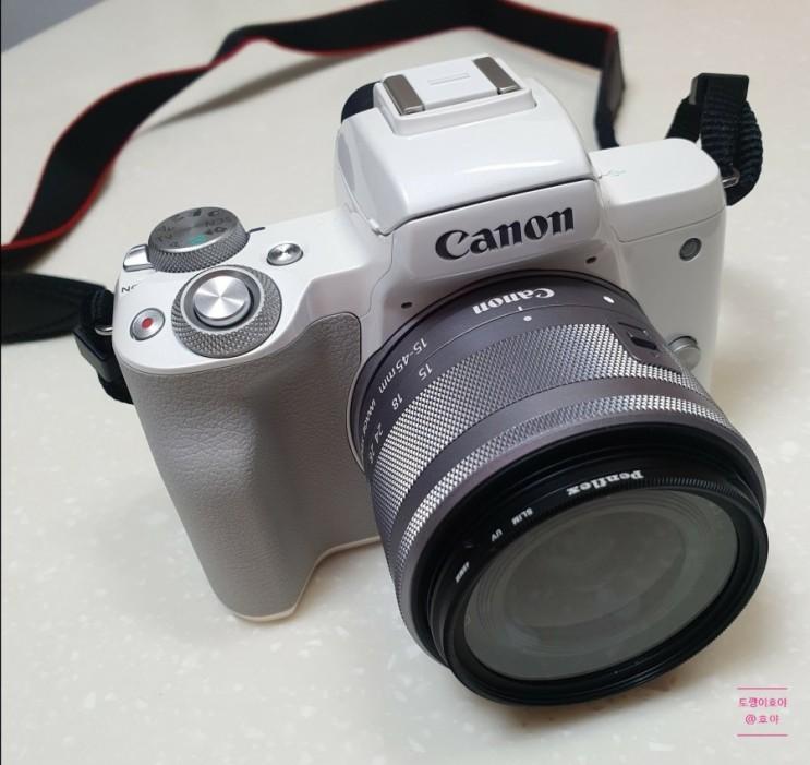 캐논 eos m50 블로그용 미러리스 카메라 언박싱 +선택이유