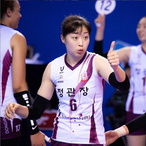 KGC 인삼공사 배구선수 박은진 인스타 : 기대뿜뿜한 기대주 센터