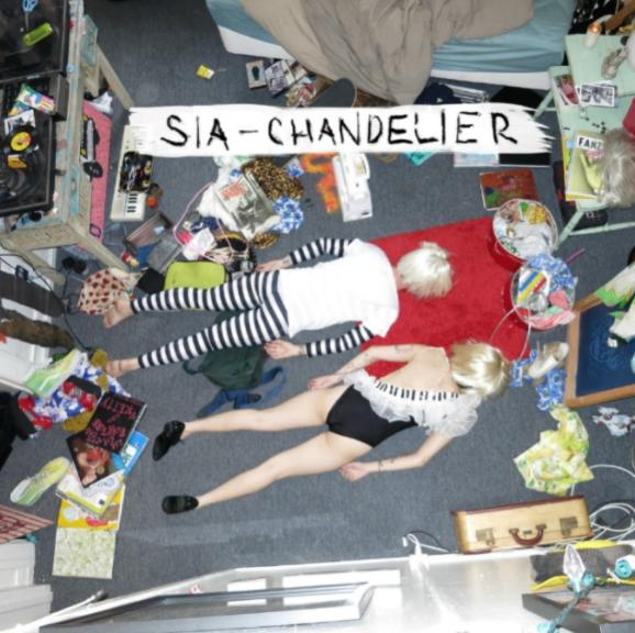 Sia 시아 - Chandelier(샹들리에), [팝송 리뷰] 노래 & 음악감상 / 뮤직비디오, 가사 ; 광고음악!