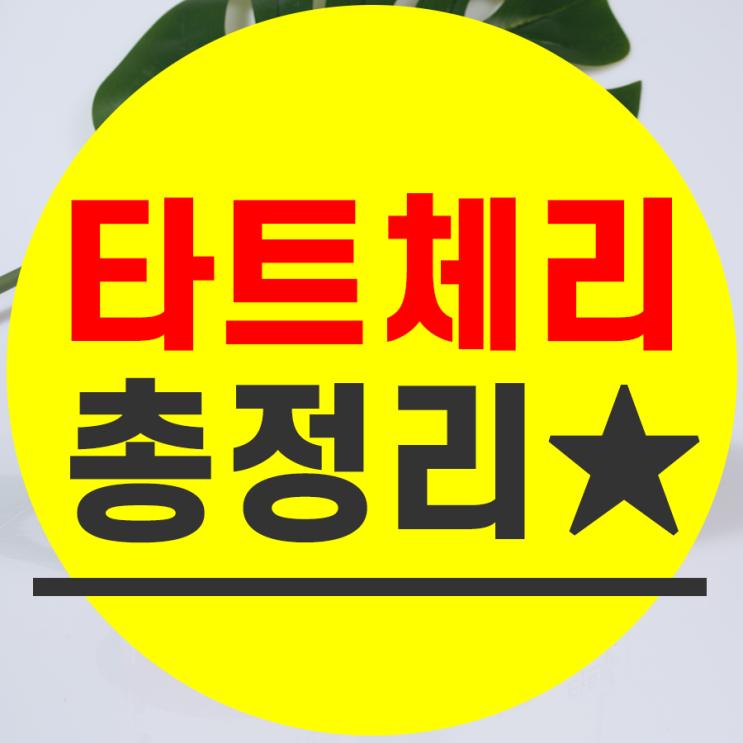 타트체리 분말 가루 타트체리주스 원액 효능 먹는법 파는곳 공유!