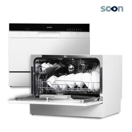 스콘 식기세척기 6인용 SC-K06W