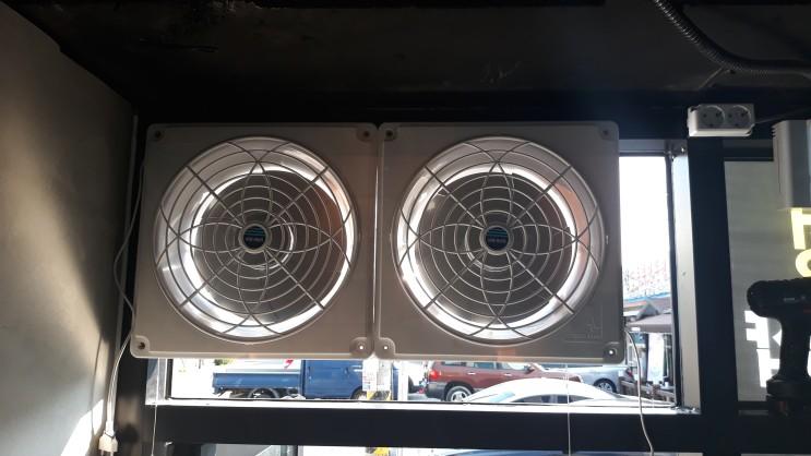 창문에도 환풍기 설치가 가능한가요? - 대구환풍기업체