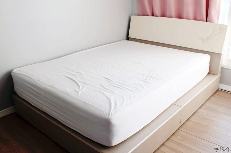 침대 버리는법 매트리스 대형폐기물 스티커 버리기 미니멀라이프 살림팁
