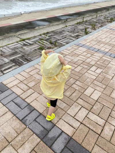 시골살이 4일차) 비가 와도 1일2바다 산책, 여유넘치는 하루 하루