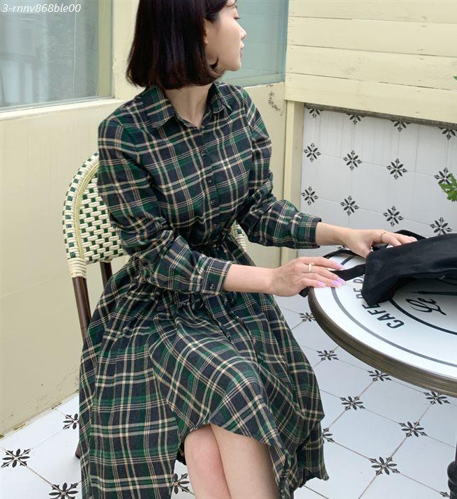 [특가상품] 빼빼 여성용 언발 체크 플레어 롱원피스 32,600 원