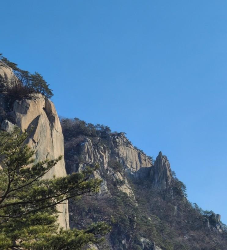 100대명산-64, 춘천 용화산 최단( 등산) 코스(용화산 큰고개~용화산~원점)
