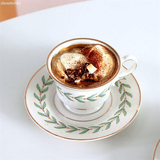 탑5잇템 코지테이블 골드라인 나뭇잎 커피잔 세트! 주목할만한점