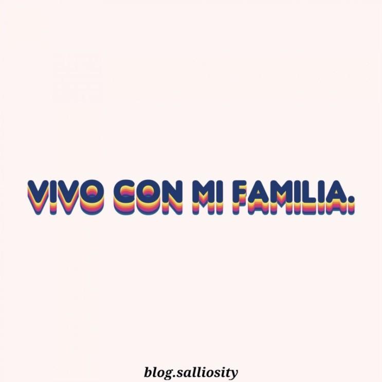 [스페인어] Vivo con mi familia.