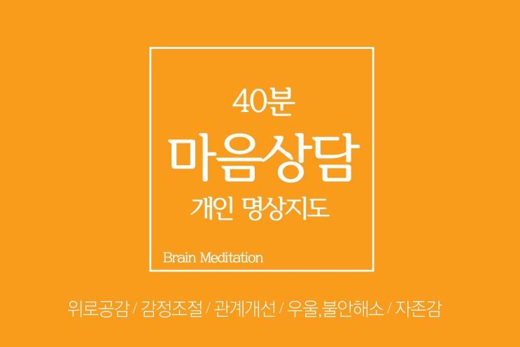 단월드 마음상담_ 개인 명상지도