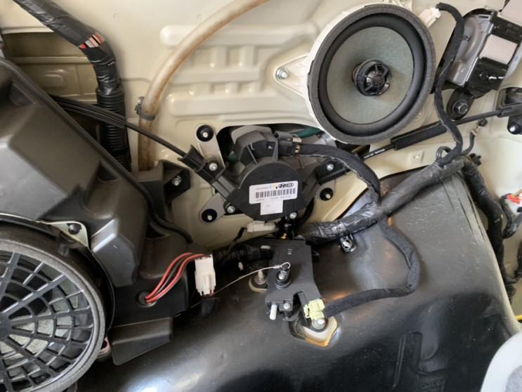 올뉴카니발 오토 슬라이딩 도어모터수리 소울음
