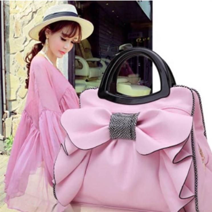 [할인상품] LAONONG 여성 가방 공주풍 핸드백 토트백 G5533 32,000 원♡ ♬