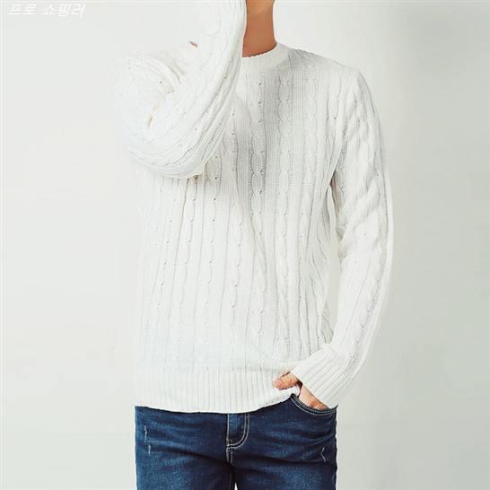 [할인추천] 머시따 남성용 꿀아이템 꽈배기 니트 15,900 원♥ ♥