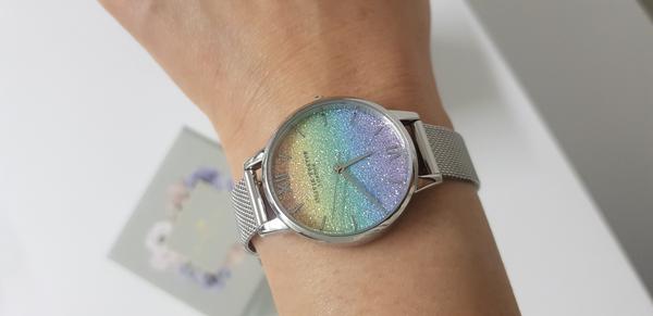 올리비아버튼 글리터 내 생일선물 손목시계