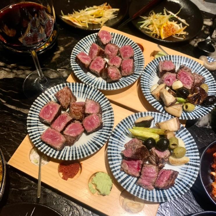 청담동 맛집, 청담 오마카세 도쿄등심 청담점