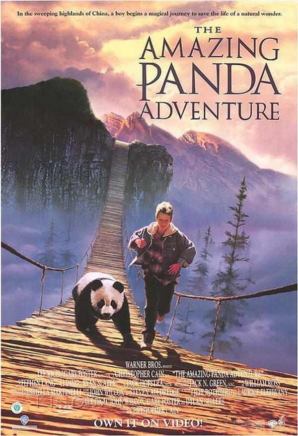 가족 영화│팬더 대소동, The Amazing Panda Adventure (1995)