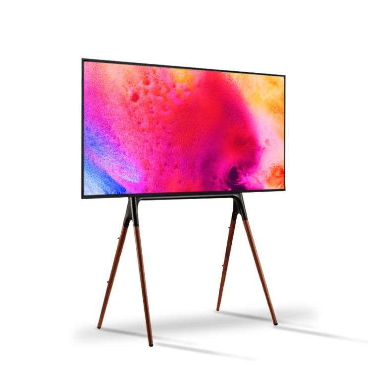 스파이더 이젤형 TV 플로어형 아트 스탠드 사각대 600 x 400 mm, DIEN-4ES